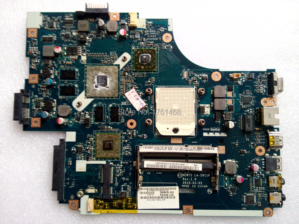 5551G Motherboard LA-5911P For ACER Main board Non-integration Fully Tested(China (Mainland))
