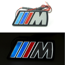 Car-Styling Auto Grille Emblem Logo Light For BMW 1/5/6 Series M3 M5 X1 X3 X5 X6 E34 E36 E39 E46 E30 E60 E90 E92 E39 F30 F10 F20(China (Mainland))