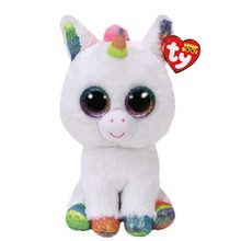 Ty Vaias Gorro Unicórnio Boneca de Brinquedo de Pelúcia Animal 15 centímetros(China)