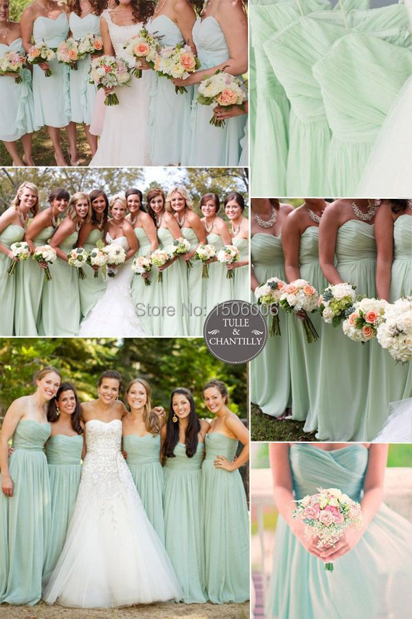 Popular Long Bridesmaid Dresses maid Of Honor Long cheap ...