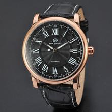 2015 famoso Forsining Marca Relojes mecánicos automáticos De hombre hombres del reloj del calendario De alta calidad Relojes De Marca