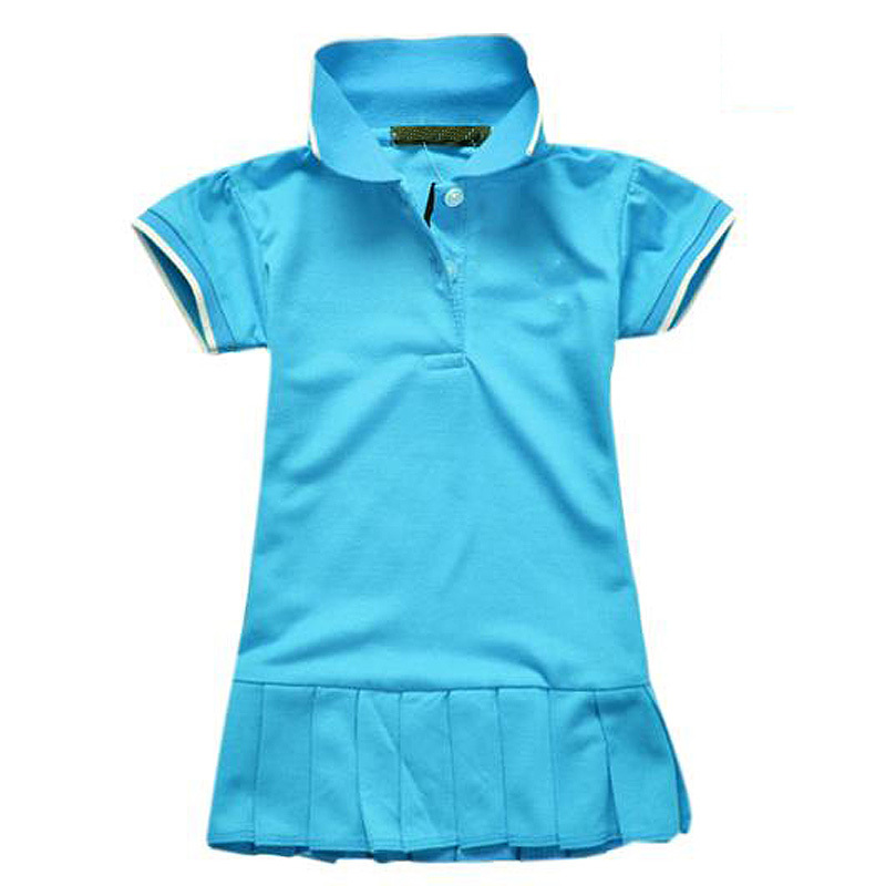 Children Girl Dress Baby Girls Clothes Brand Polo Dress kids(0-4y) Princess tennis One-piece Kids Dresses Summer Style(China (Mainland))