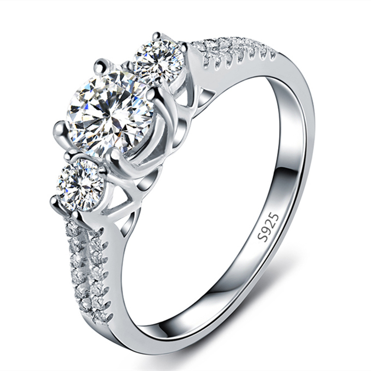 s925 wedding rings for women platinum plated jewelry engagement vintage ring bague zirconia. Black Bedroom Furniture Sets. Home Design Ideas