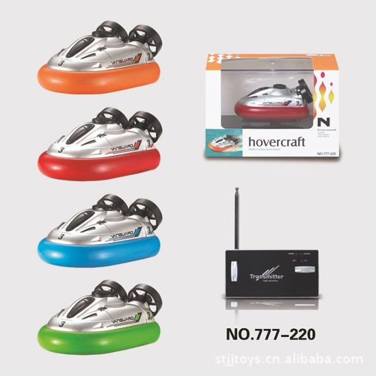 radio control hovercraft, super mini rc boat, 777-220 RC 4ch mini I/R hovercraft P2