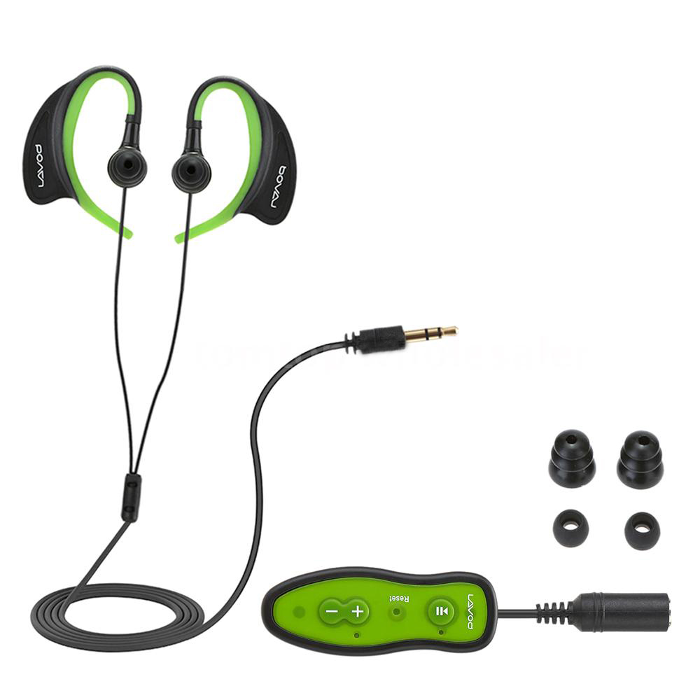 Top Deals Swimming Running Diving 8GB MP3 Music Player IPX8 Waterproof Headphone with Clip