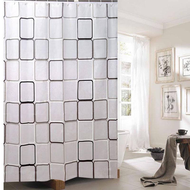 Peva bathroom shower curtain waterproof curtain curtain curtains shower curtain