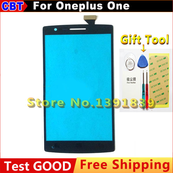 New Original OGS Oneplus One Touch Screen Digitizer Glass For Oneplus One 1+ 64GB 16GB External screen + Free hipping(China (Mainland))