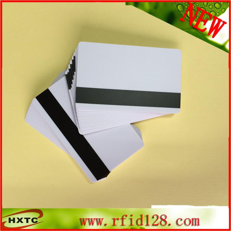Free 50PCS/Lot Plastic/PVC 2750/3000/4000 OE Hi-Co Magnetic Stripe Blank Smart Card Printable Card Printer