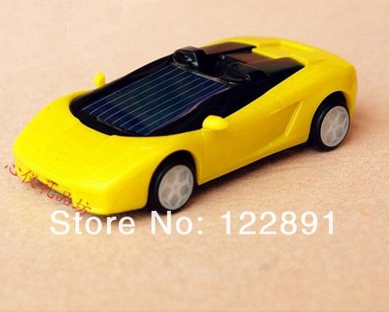 Solar Toy Racing Car Educational Mini Solar Powered Robot Racing Car Toy Min Solar Car Toy Wholesale 20pcs/lot Free shipping(China (Mainland))