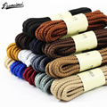 14 Colors 100cm Sneaker Round Shoelaces Solid Polyester Twisted Boots Shoes Laces High Quality Brand Fashion