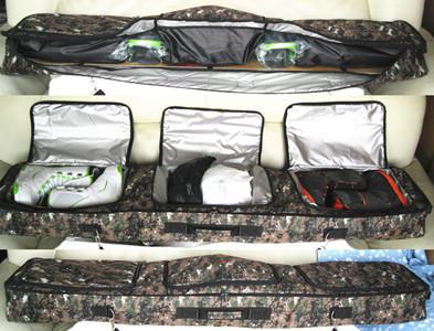 Ski Snowboard Bag Mountain Skiing PU Waterproof Shoulder Hand Protective Pouch 165/155/150cm(China (Mainland))