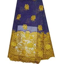 2015 срок годности новый эко-сельское атака лента высокое качество африканский шнур для шитья нигерии свадебное платье