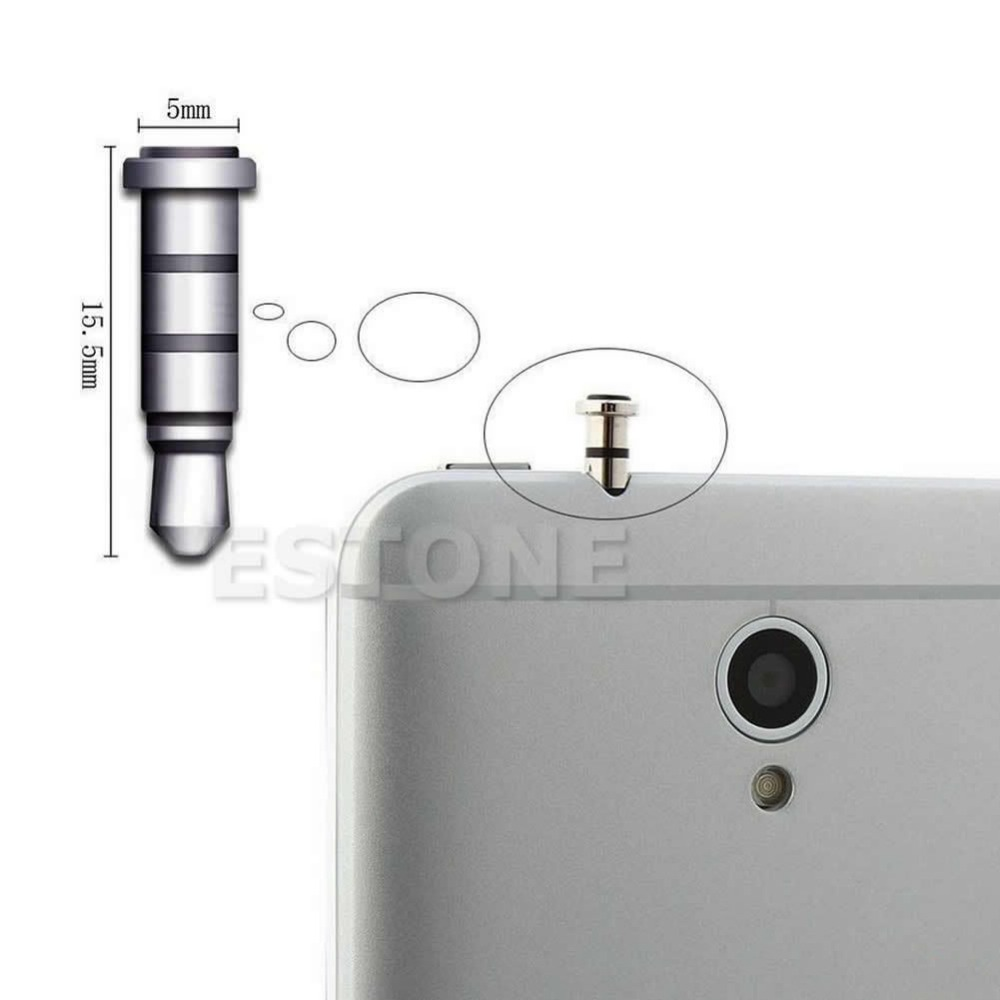 1PC Klick Quick Button Dustproof Plug For Andriod Smartphone 3.5mm Jack Free shipping<br><br>Aliexpress
