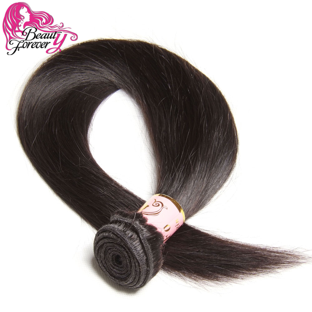 Beauty Forever Hair 6A Malaysian Virgin Hair Straight 1 PC Unprocessed Malaysian Human Hair Weave Bundles 8-30inch BFST02