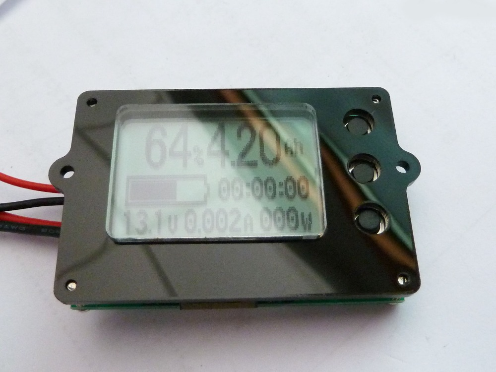1pcs 80V 50A 50AH Coulomb gauge electrical parameters lithium battery LCD display instrument TF01N(China (Mainland))