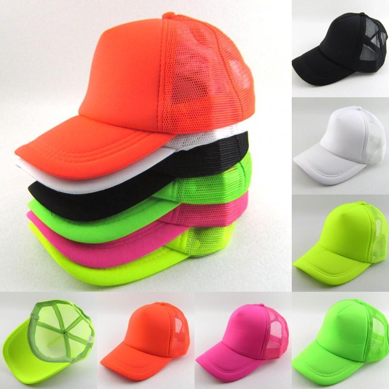 wholesale NEON Fluorescent mesh cap baseball hat cap 6 color  5pcs/lotОдежда и ак�е��уары<br><br><br>Aliexpress