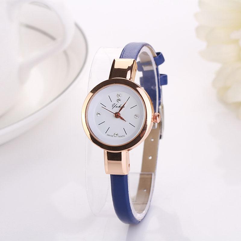 2016 luxury brand watch women fashion gold watch quartz clock girl ...