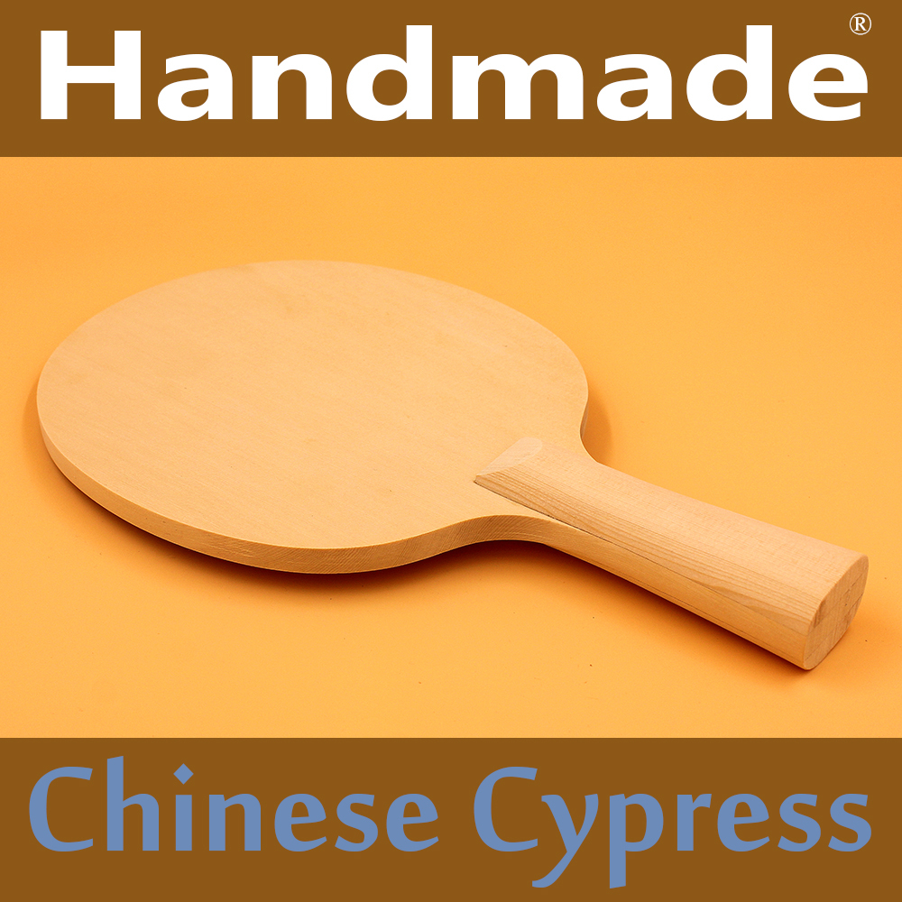 Handmade Chinese Cypress Brand Quality Table tennis blade Ping Pong racket bat for fast attack and loops or chop type player(China (Mainland))