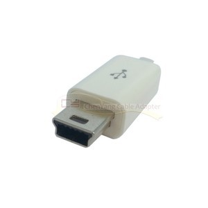 10pcs Mini USB Type B Male 5pin Four Pieces Assembly Connector Adapter(China (Mainland))