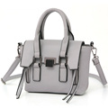 Fashion New Simple Women Handbag Side Zippers Ornament Magnetic Snap Flap Bag Solid Color Designer Ladylike
