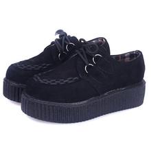 Лианы обувь 35-41 женская Обувь 2016 плюс размер дамы лианы туфли на платформе Квартир Женщин обувь(China (Mainland))
