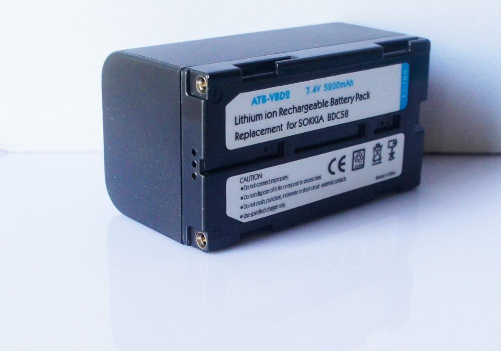 BDC58 External Battery For Sokkia Surveying Instruments