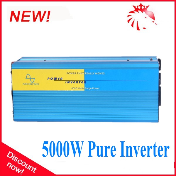5000W Pure Sine Wave Power Inversor with CE, ROHS approved(7kw peak power) 12V/220V<br>