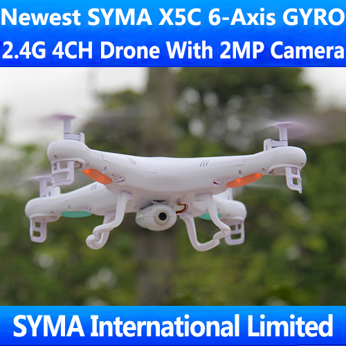 SYMA X5A X5 X5C with 2MP HD Camera Cam 2.4Ghz 4CH RC Quadcopter Quadricopter 6-Axis GYRO Helicopter UFO VS Parrot Ar.Drone 2.0(China (Mainland))