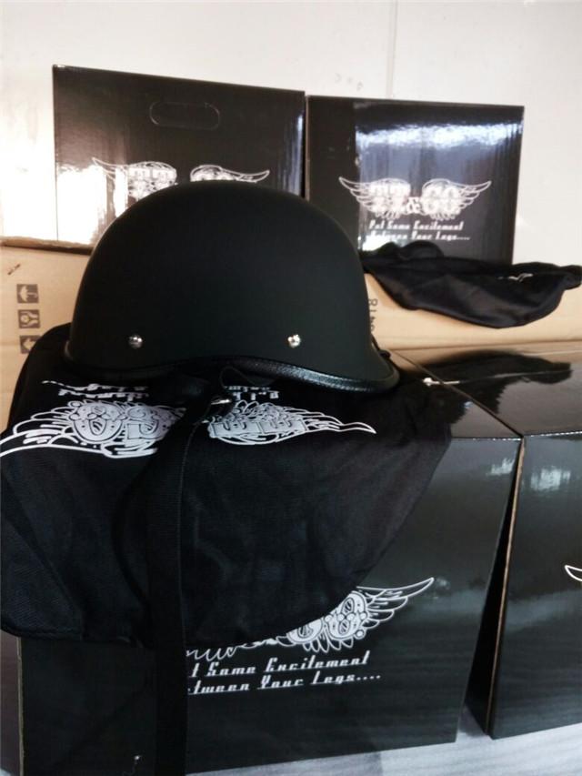 TT&CO Japanese Thompsonjockey half helmet  Harley cruise motorcycle helmet motobike helmet super magnum small jet helmets