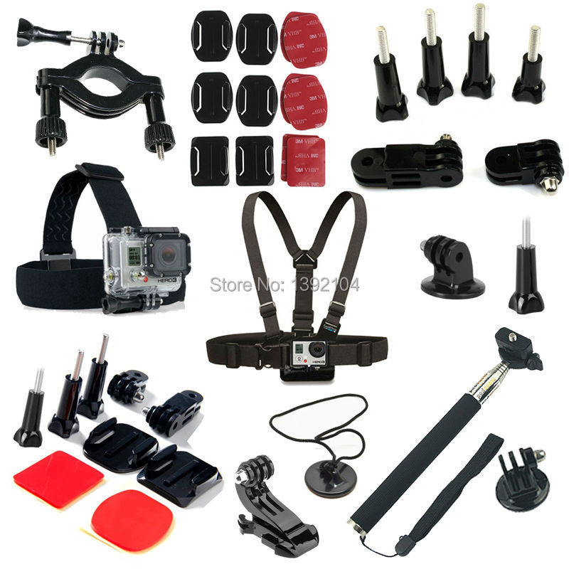 online kopen wholesale gopro accessories kit uit china gopro accessories kit groothandel. Black Bedroom Furniture Sets. Home Design Ideas