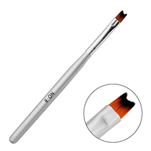 Professional 1Pcs Nail Brush Pen Acrylic UV Gel Nails Art Painting Drawing French Manicure Tools Wholesale Free Shipping(China (Mainland))