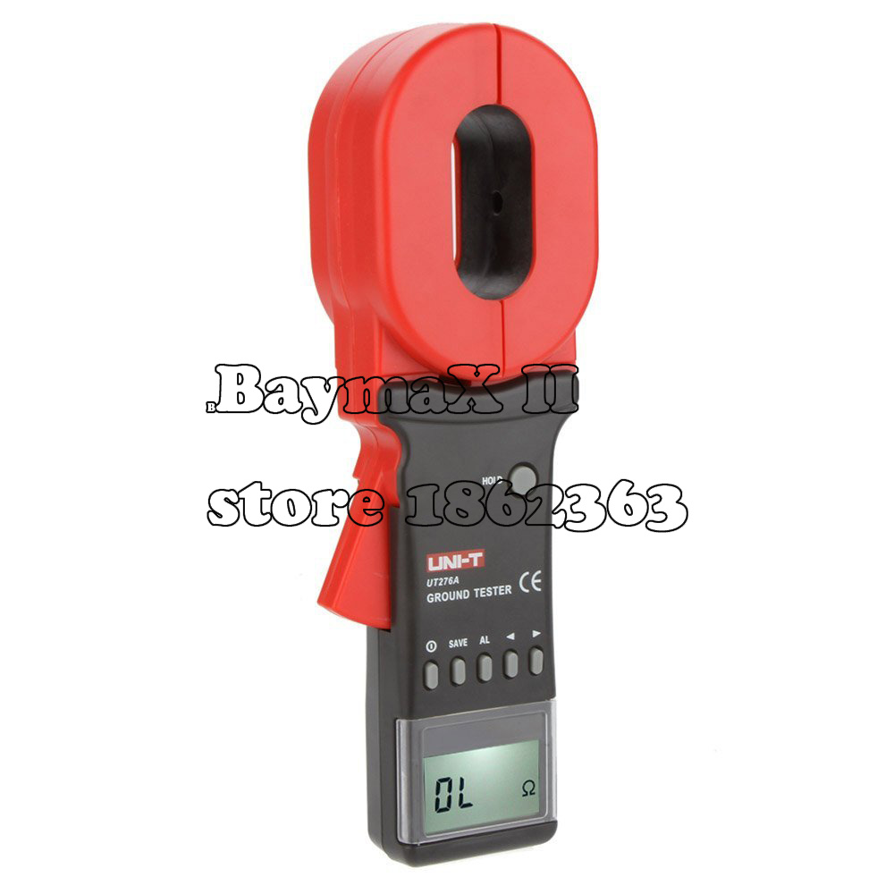 UNI-T UT276A Auto Range Digital Clamp Earth Ground Resistance Testers Megohmmeter Clamp Meters Ohmmeter w/ RS-232 Interface<br><br>Aliexpress