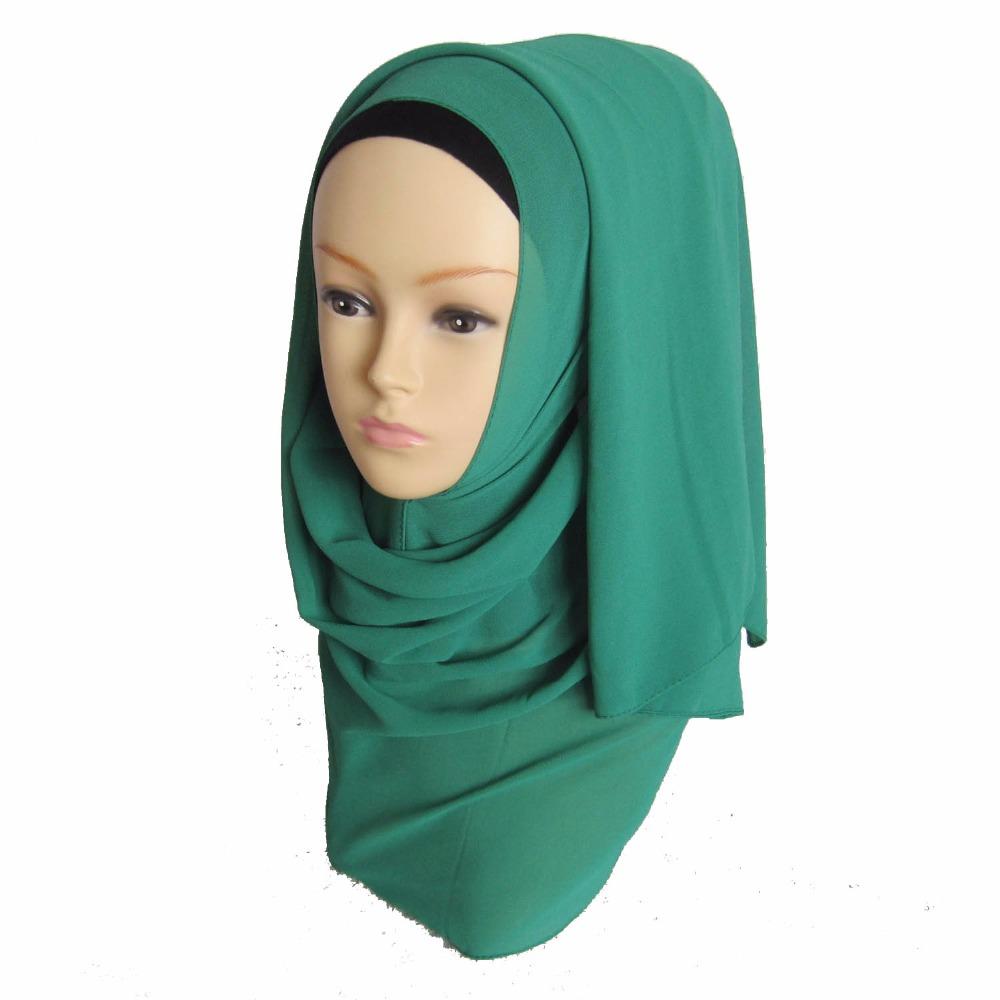 women newdesigns plain chiffon sacrves shawl hijab,can choose colors ,free shipping(China (Mainland))