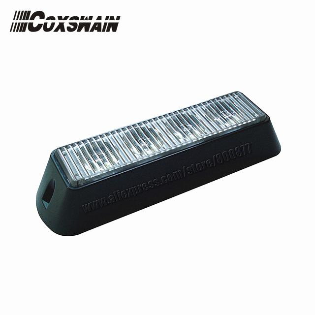 LED head light for car, Car LED surface mount headlight, TIR-4 1W LEDs, 18 flash patterns, LED grill light,   (VS-828)