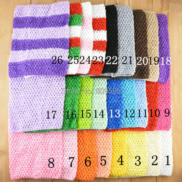 Free shipping , Cheap headband 7.5x9 inches Crochet tube top for tutu tops wide crochet headband 26 colorsОдежда и ак�е��уары<br><br><br>Aliexpress