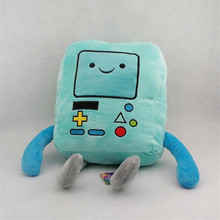 30cm Anime Adventure Time Beemo BMO Stuffed Plush Doll Jake Finn Soft Brinquedos Animal Toys For Children