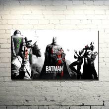 Buy POPIGIST-Batman Arkham City Arkham Origin Video Game Art Silk Fabric Poster Print 13x24 24x43 inch Room Decor Pictures 062 for $5.39 in AliExpress store