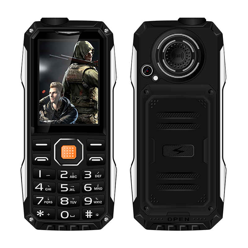 KUH T998 shockproof dustproof GPRS Web mp3 mp4 power bank bluetooth 3.0 flashlight FM no need earphone rugged mobile phone P004(China (Mainland))