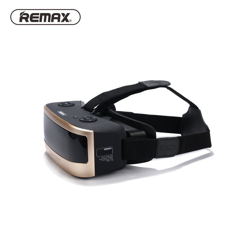 Remax All In One Virtual Reality Glass Headset Anti Blue Ray 3D HD VR Glass For 5.5 Inch Smart Phones