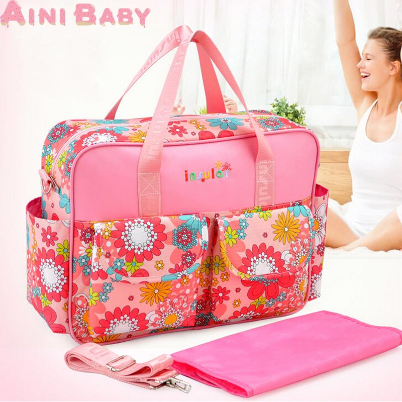 High Quality 5PCS/Set High Quality Baby Bag Baby D...