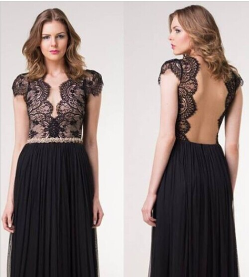 Hot Women Sexy Lace Drees Slim Casual Cocktail Formal Party Maxi Sexy Backless lace Dresses Long Dress(China (Mainland))
