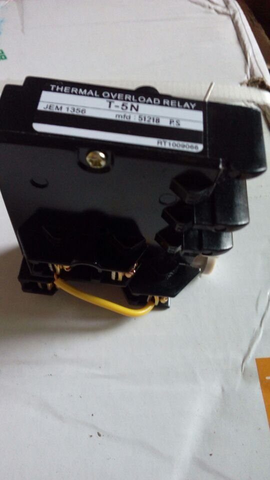 LG supply thermal relay thermal overload relay T-5N 4-8A(China (Mainland))