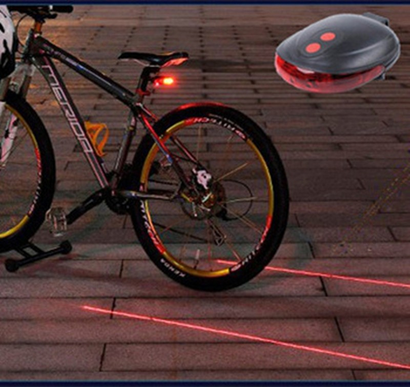 Cycling Bike light Bicycle Led Laser Tail Light 2016.3 (7)