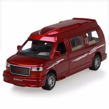 Alloy toy car general gmc car commercial alloy car model acoustooptical WARRIOR open the door