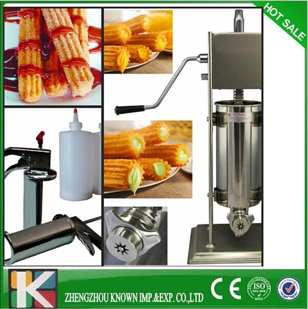 stainless steel 2L spain automatic Churros Machine for sale (also produce 3L 10L 12L)(China (Mainland))