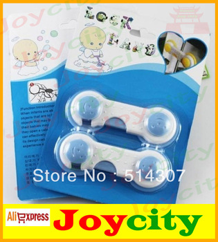 Baby security lock baby care products baby safety lock Cabinet Drawer Secure Locks Latch for Kids Toddler 10pcs/lot Joycity