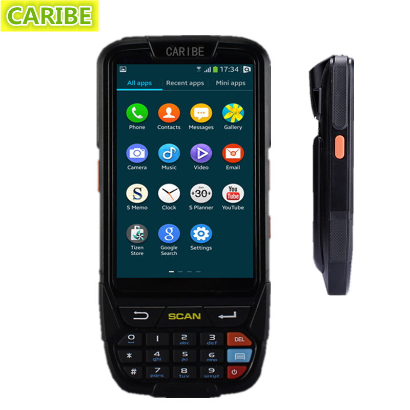 Caribe PL-40L mobile computer android pda wifi 2d bluetooth barcode scanner(China (Mainland))