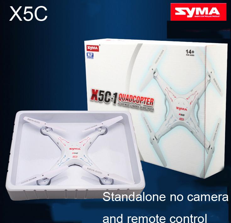 100% Original Stand-Alone No camera, no remote control 2.4G 4CH 6-Axis SYMA X5C Toys RC Helicopter Quadrocopter Drone(China (Mainland))