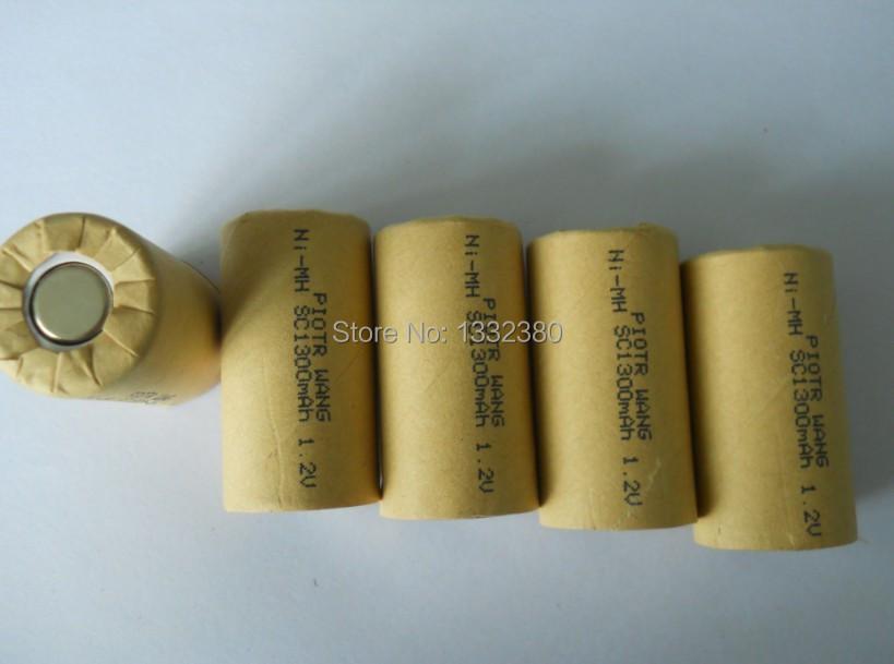 (500pcs/lot free shipping) piotr wang sc1300mah ni-mh 1.2v 10c battery cell<br><br>Aliexpress