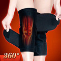 1Pair Tourmaline self heating kneepad Magnetic Therapy knee support tourmaline heating Belt knee Massager
